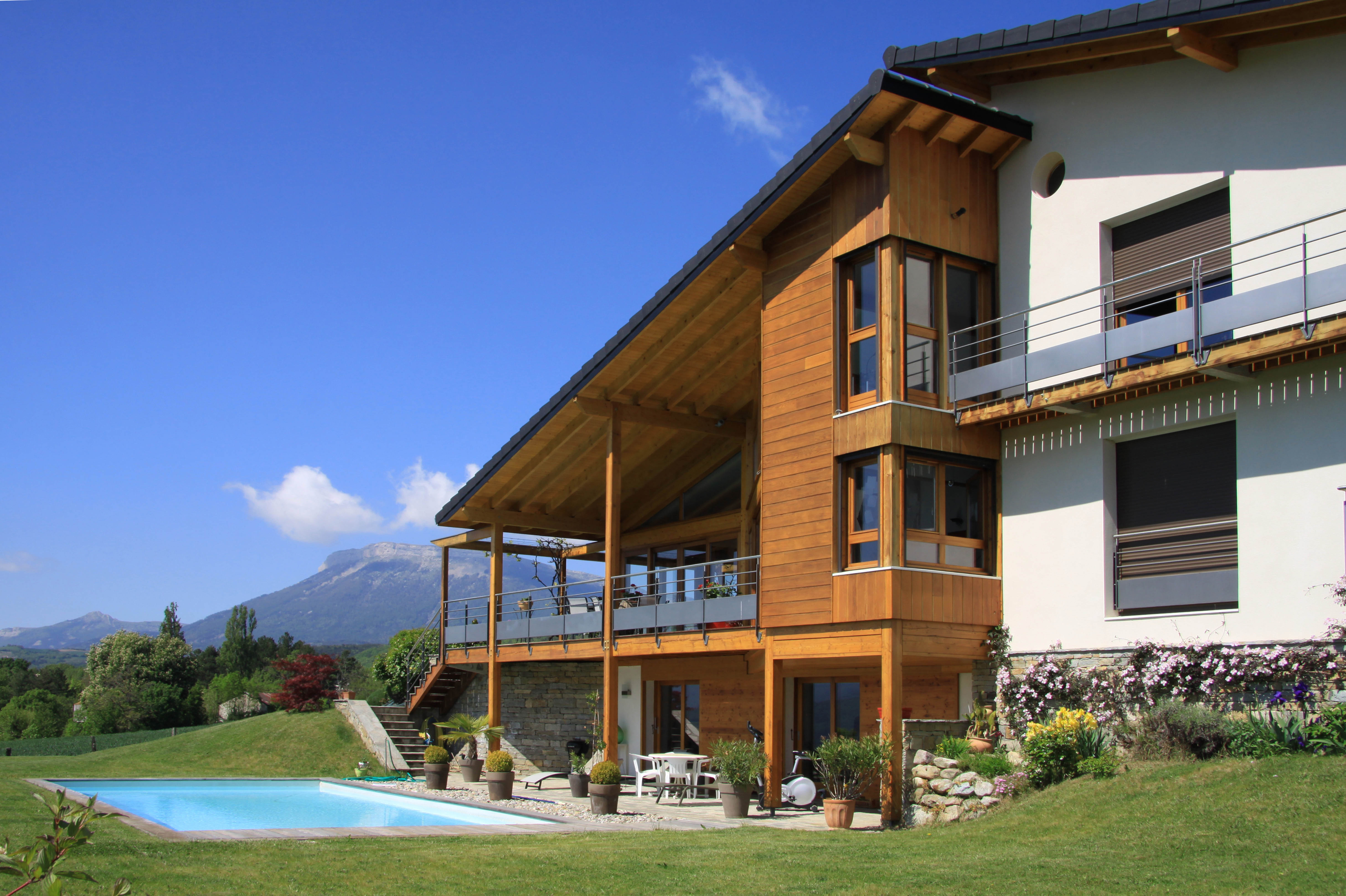 atelier d 39 architecture dufayard logement villa l gap 05. Black Bedroom Furniture Sets. Home Design Ideas