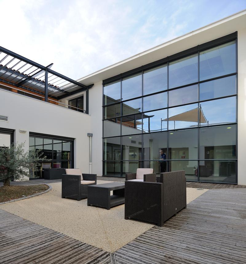 atelier d 39 architecture dufayard sant ehpad les vergers de la durance tallard 05. Black Bedroom Furniture Sets. Home Design Ideas
