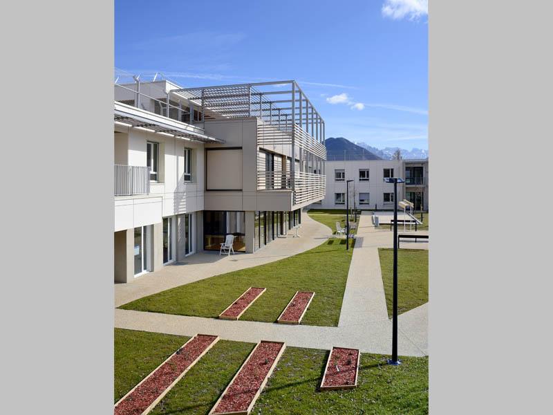 atelier d 39 architecture dufayard sant ehpad la maisoun la mure 05. Black Bedroom Furniture Sets. Home Design Ideas